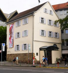 Das Hegel-Haus in Stuttgart am 27. August 2020.