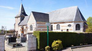 DIe Kirche von Cuverville