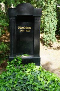 Grab Hans Mayers in Berlin (Foto: HB)